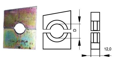 Матрицы для арматуры СИП - для пресса ПМК-240