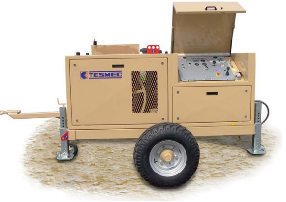 Гидравлическая натяжная машина ARS607, сила тяги 100 кН
