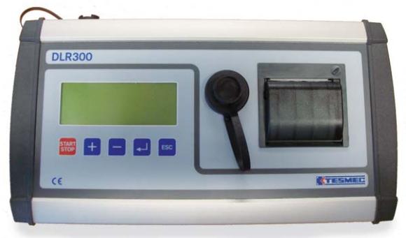 Электронный регистратор параметров натяжения и скорости DLR300