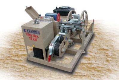 Гидравлическая натяжная машина ARS200, сила тяги 15 кН