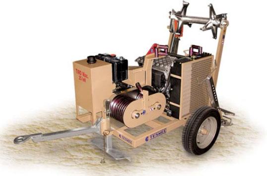 Гидравлическая натяжная машина ARS301, сила тяги 25 кН