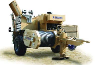 Гидравлическая натяжная машина ARB501, сила тяги 2 х 40 кН или 1 х 80 кН