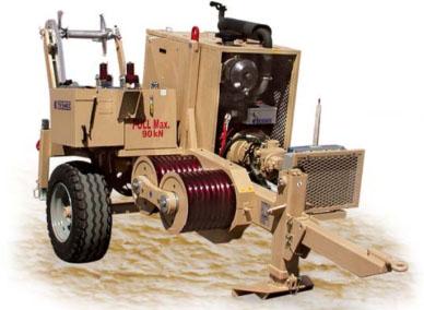 Гидравлическая натяжная машина ARS500, сила тяги 90 кН