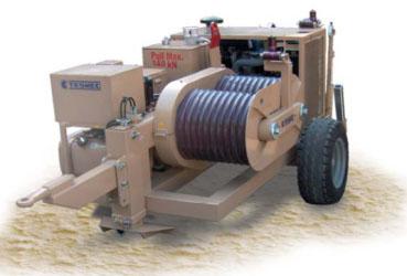 Гидравлическая натяжная машина ARS606, сила тяги 140 кН