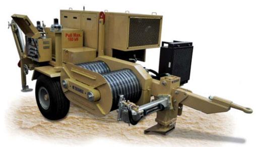 Гидравлические натяжные машины ARS700-ARS701, сила тяги 160 кН