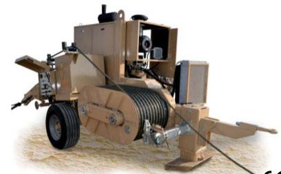 Гидравлическая натяжная машина ARS802, сила тяги 240 кН