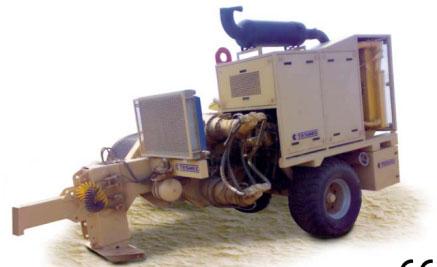 Гидравлическая натяжная машина ARS907, сила тяги 280 кН