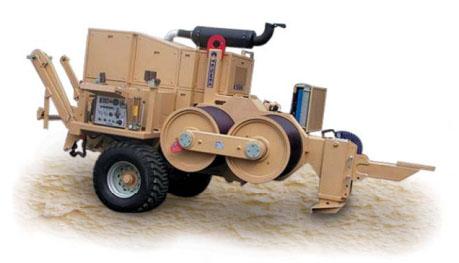 Гидравлическая натяжная машина ARS910, сила тяги 360 кН