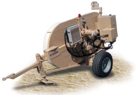 Гидравлическая тормозная машина FRS301, сила торм. 25 кН
