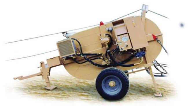 Гидравлические тормозные машины FRS403-FRS400, сила торм. 40 кН