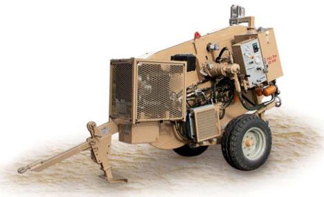Гидравлическая тормозная машина FRS404, сила тяги/торм. 40 кН