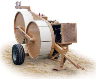 Гидравлическая тормозная машина FRS507, сила тяги/торм. 40 кН