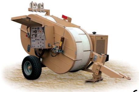 Гидравлическая тормозная машина FRB518, сила тяги/торм. 2 х 50 кН или 1 х 100 кН