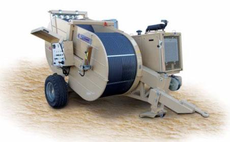 Гидравлическая тормозная машина FRS615, сила тяги/торм. 140 кН