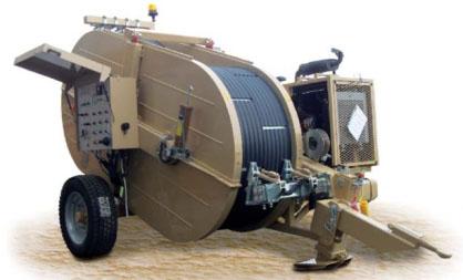 Гидравлическая тормозная машина FRB616, сила тяги/торм. 2 х 70 кН или 1 х 140 кН