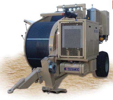Гидравлическая тормозная машина FRS620, сила тяги/торм 150 кН