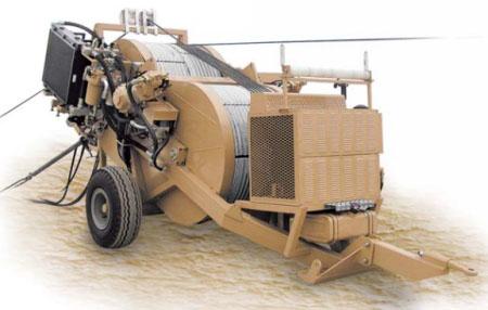 Гидравлическая тормозная машина FRB600, сила тяги/торм. 2 х 75 кН
