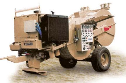 Гидравлическая тормозная машина FRQ800, сла тяги/торм. 4 х 50 кН или 2 х 100 кН