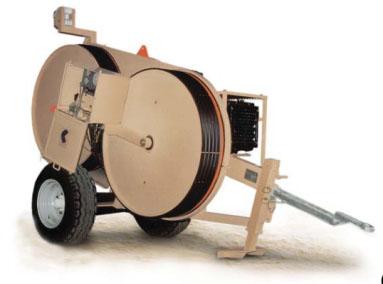 Гидравлические натяжные -тормозные (реверсивные) машины AFS301-AFS303, сила тяги/торм. 25 кН