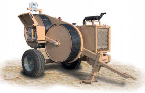 Гидравлическая натяжная -тормозная (реверсивная) машина AFS411, сила тяги/торм. 35 кН