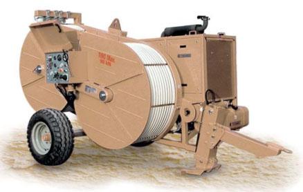 Гидравлическая натяжная-тормозная (реверсивная) машина AFS507, сила тяги/торм. 90 кН