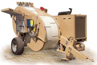 Гидравлическая натяжная-тормозная (реверсивная) машина AFB506, сила тяги/торм. 2 х 45 кН или 1 х 90 кН
