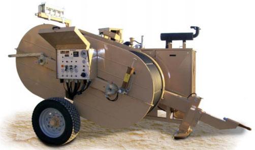 Гидравлическая натяжная-тормозная (реверсивная) машина AFS610, сила тяги/торм. 140 кН