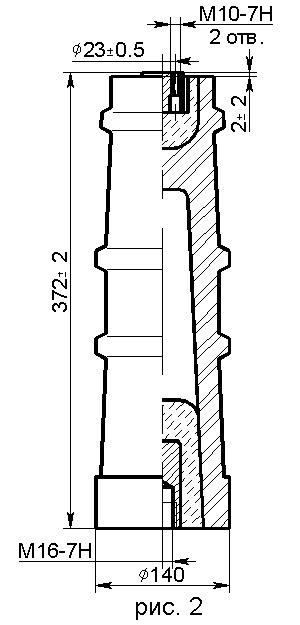 Изоляторы типа ИО, ИОР 35 кВ