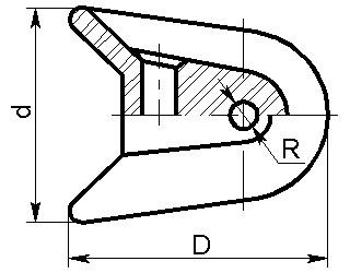 Седлообразный изолятор РС