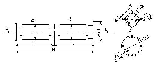 Опорно-стержневой изолятор С8-1300