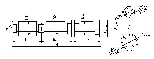 Опорно-стержневые изоляторы С8-1800