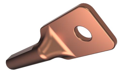 Зажимы аппаратные прессуемые типа А1А (с одним отверстием в контактной лапке)