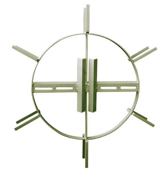 Каркас для намотки запасов подвесного оптического кабеля