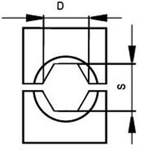 Шестигранные матрицы для клещей монтажных МИ-248-1