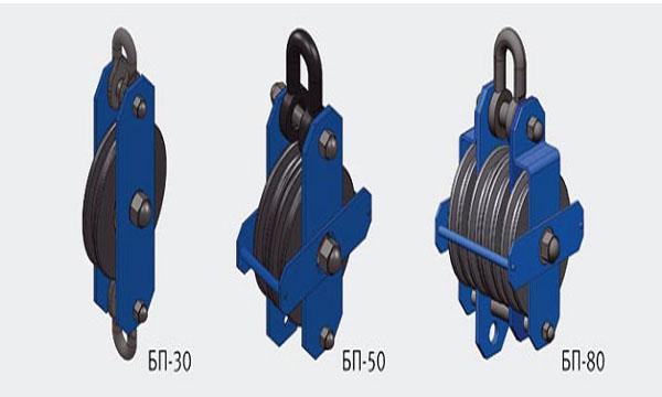 Блоки полиспастные типа БП