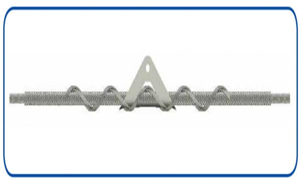 Спиральные зажимы для высокотемпературных проводов
