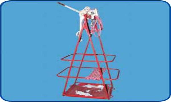 Устройство для выполнения работ на поддерживающих гирляндах ВЛ 110-750 кВ (сидение монтера)
