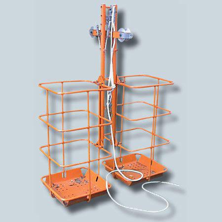 Устройство для выполнения работ на поддерживающих гирляндах ВЛ 330-1150 кВ