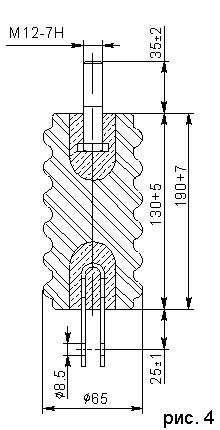 Тяги электроизолирующие - изолятор ИТГ