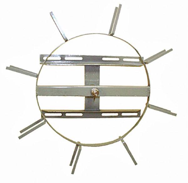 Устройство для намотки запасов подвесного оптического кабеля