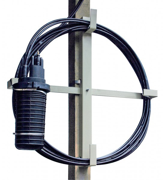 Устройство для подвески муфт и запаса кабеля УПМК