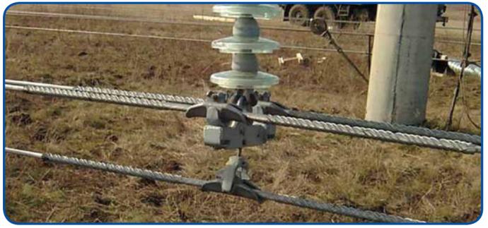 Зажимы соединительные СС-Dпр-ХХ (ПГН) для ремонта проводов в поддерживающих зажимах типа ПГН